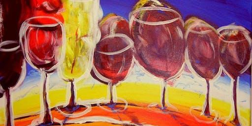 Drink N Doodle Freskos