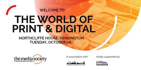 The Media Society: Welcome To The World of Print & Digital Media tickets