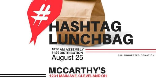HashtagLunchbagCle- August Edition