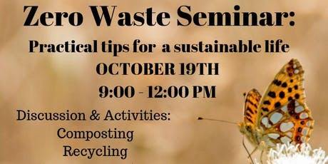 Zero Waste Seminar tickets