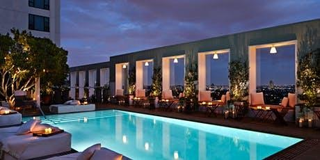 VIEWS Friday Night Swim @ SkyBar In The Mondrian Hotel In West Hollywood!