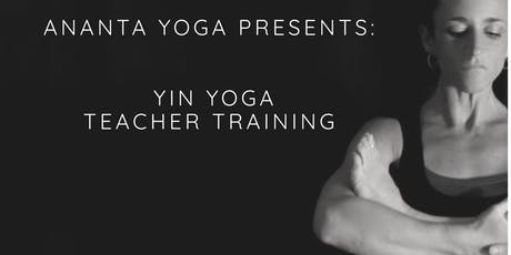 Yin Yoga Teacher Training Intensive tickets
