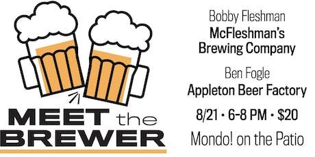 Meet the Brewer - Bobby Fleshman/Ben Fogle tickets