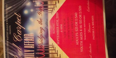 Rossford First Baptist I.R.O.C.K. Youth Ministry Red Carpet Formal Attire tickets