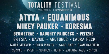 Totality Festival Pre-Party tickets
