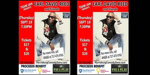 EARL DAVID REED : Team Jan charity show for Children's Miracle Network