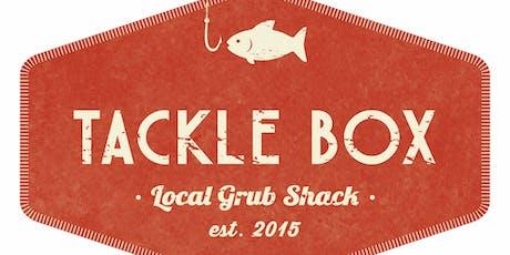 Tackle Box Kicks off Saturday Night DJ's this August! tickets