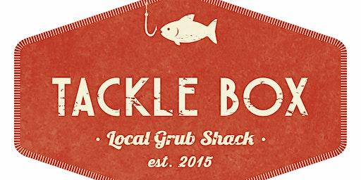 Tackle Box Kicks off Saturday Night DJ's this August!