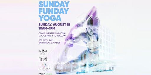 Sunday Funday Yoga   Hard Rock Hotel