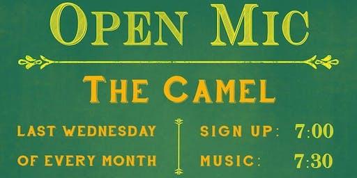 The Camel's Open Mic Night!