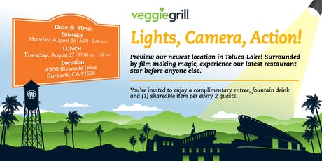Veggie Grill |  NEW Toluca Lake Restaurant tickets
