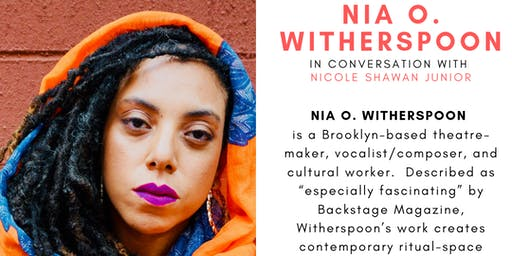 Cafe con Libros Presents Nia O. Witherspoon in conversation with Nicole Shawan Junior