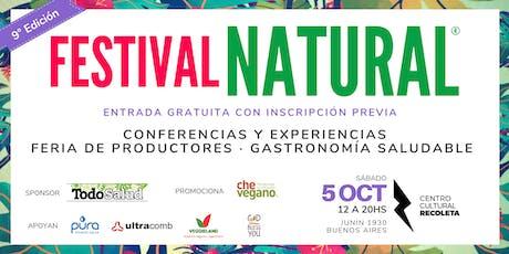 FESTIVAL NATURAL edición Primavera 2019 entradas