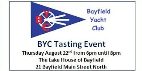 Bayfield Yacht Club Wine, Cheese, Beer & Cider Tasting Event tickets