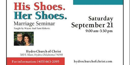His Shoes Her Shoes Marriage Seminar