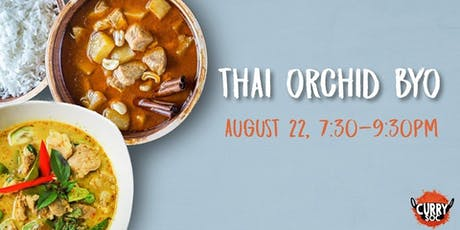 Thai Curry Night at Thai Orchid  tickets