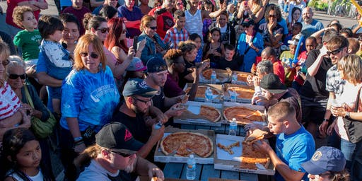 Long Island Family Festival Pizza Eating Contest 2019