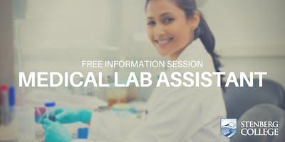 Free Medical Lab Assistant Info Session: September 12