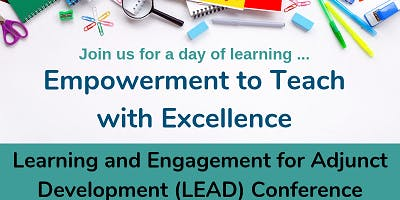 Fall 2019 Learning and Engagement for Adjunct Development (LEAD) Conf