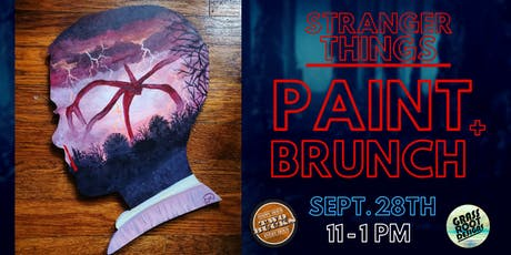 Stranger Things | Paint + Brunch at Two Bucks tickets