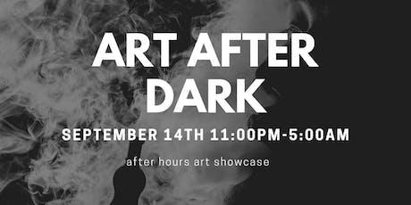 ART AFTER DARK tickets