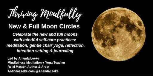 Thriving Mindfully Moon Circle - New Moon