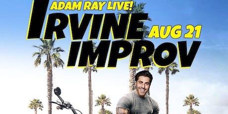 Adam Ray Headlines The Irvine Improv, FREE! tickets