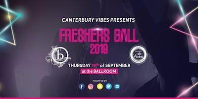 Freshers Ball 2019 Canterbury