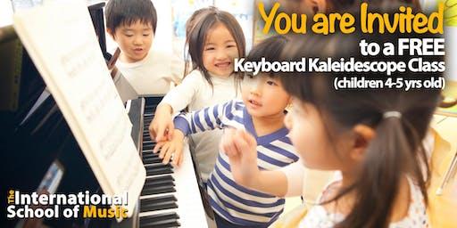 FREE TRIAL Sunday, 8/25! Keyboard Kaleidoscope Class!