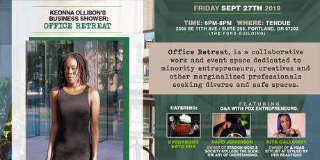 Keonna Ollison's Business Shower: Office Retreat tickets