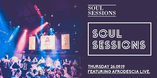 Soul Sessions: Grand Final Eve Eve 26 September