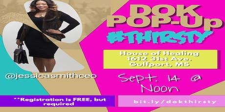 DOK POP-UP #Thirsty tickets