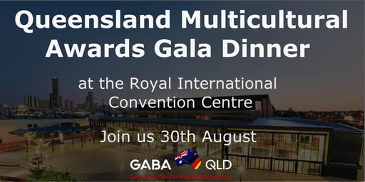 GABA - Multicultural Queensland Awards Gala Dinner