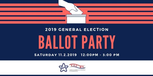 2019 General Election Ballot Party