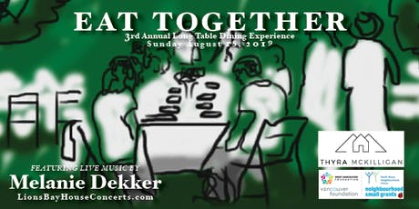 EAT TOGETHER 2019 |LionsBayVillageHall tickets