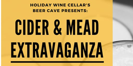 Holiday Wine Cellar - Cider & Mead Tasting Extravaganza