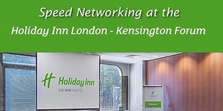 Speed Networking Evening with the Kensington and Chelsea Chamber tickets