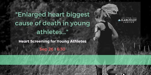 Heart Screening for Young Athletes