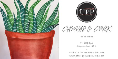 Canvas & Cork | Succulent tickets
