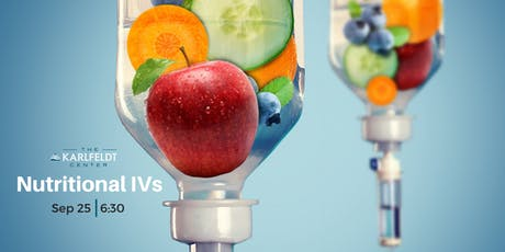Nutritional IVs tickets