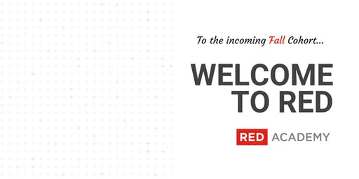 Welcome to RED - Friday Social