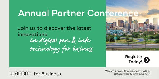 2nd Annual Wacom Partner Conference