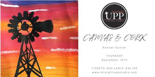 Canvas & Cork | Kansas Sunset