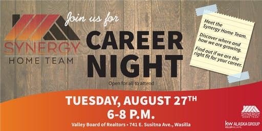 Synergy Home Team Career Night