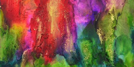 Fun abstract ink class tickets