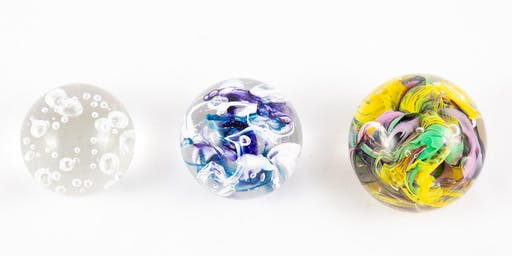 Glass Blowing Level One Workshop: Paperweights | 2019