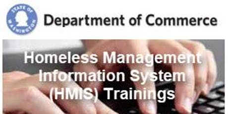Olympia - HMIS New User (Part 1) Training tickets