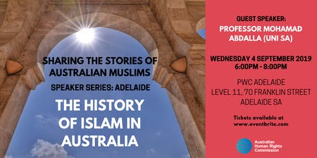 Speaker Series: The History of Islam in Australia tickets