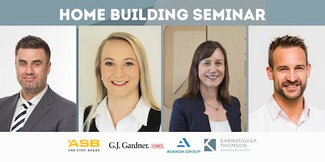 HOME BUILDING SEMINAR tickets