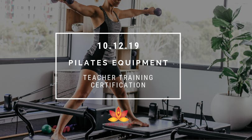Pilates Equipment Certification with Maria Forrest